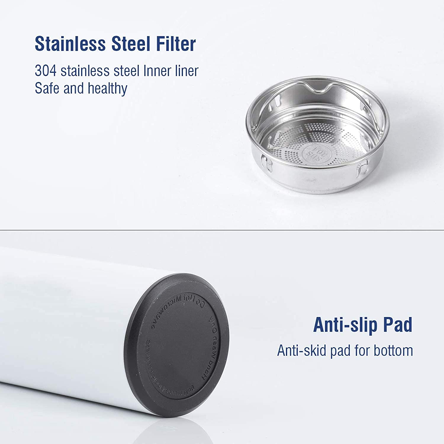 Stainless Steel Vacuum Flask Smart Kettle LCD Touch Screen Display Temperature, Glass&Bottle, Products