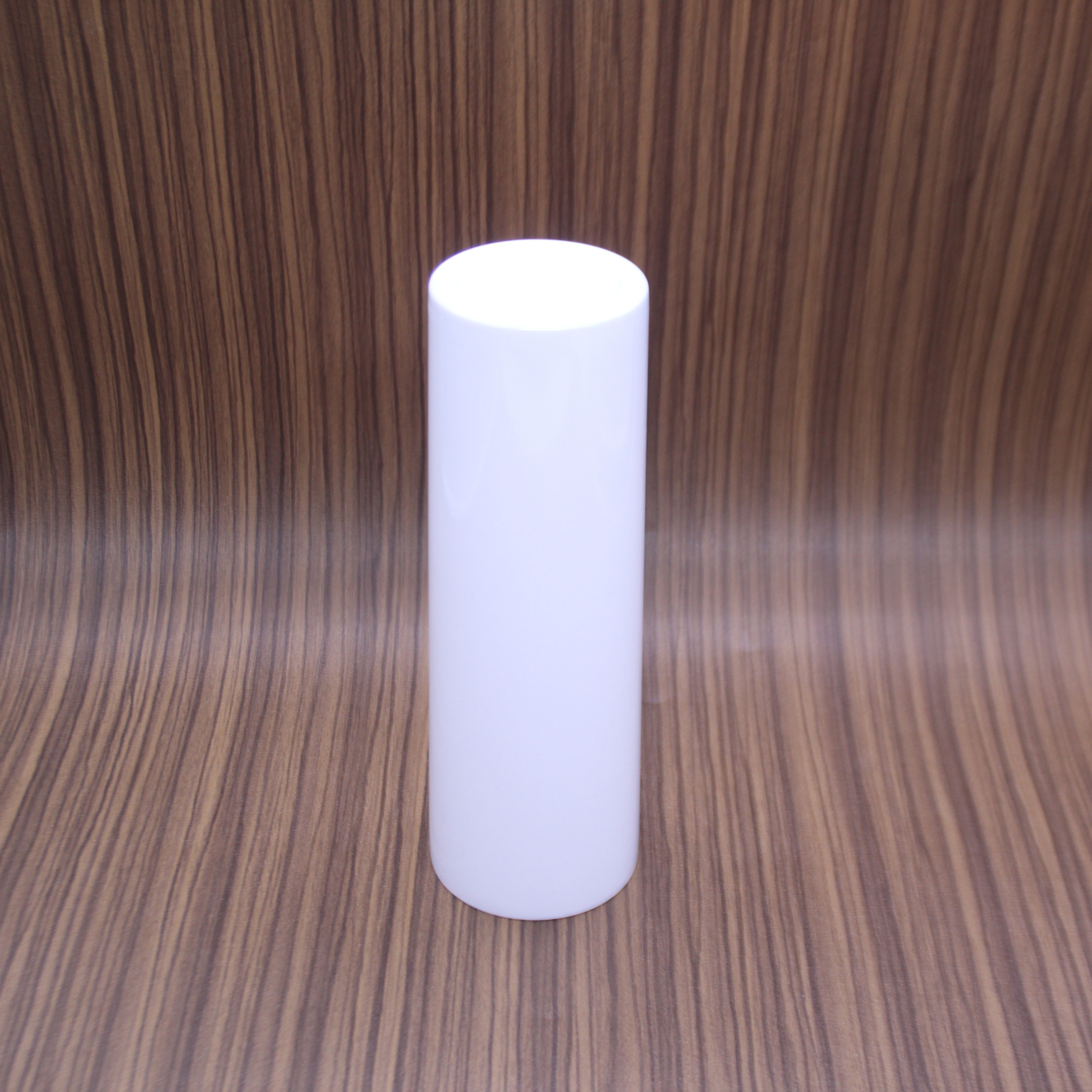 Wholesale White Sublimation Blanks Stainless Steel Tumbler Double Walled Straight 20 OZ Skinny Tumbler With Straw