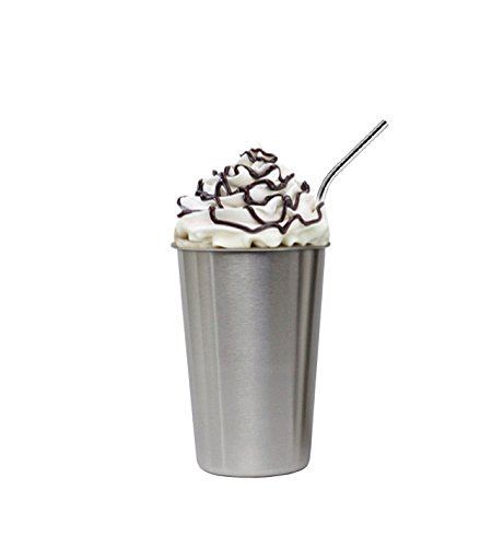 stainless steel  cup sliding lids coffee wine beer drinking insulated Stackable Pint Cup Tumblers