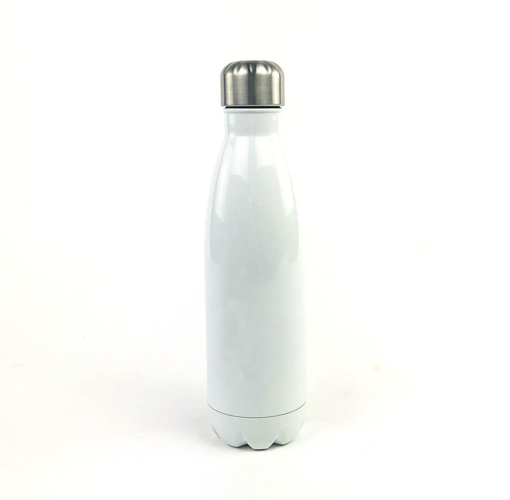 Sublimation 17oz Stainless Steel Cola Shaped Bottle sublimation Stainless Steel cola Bottles blank