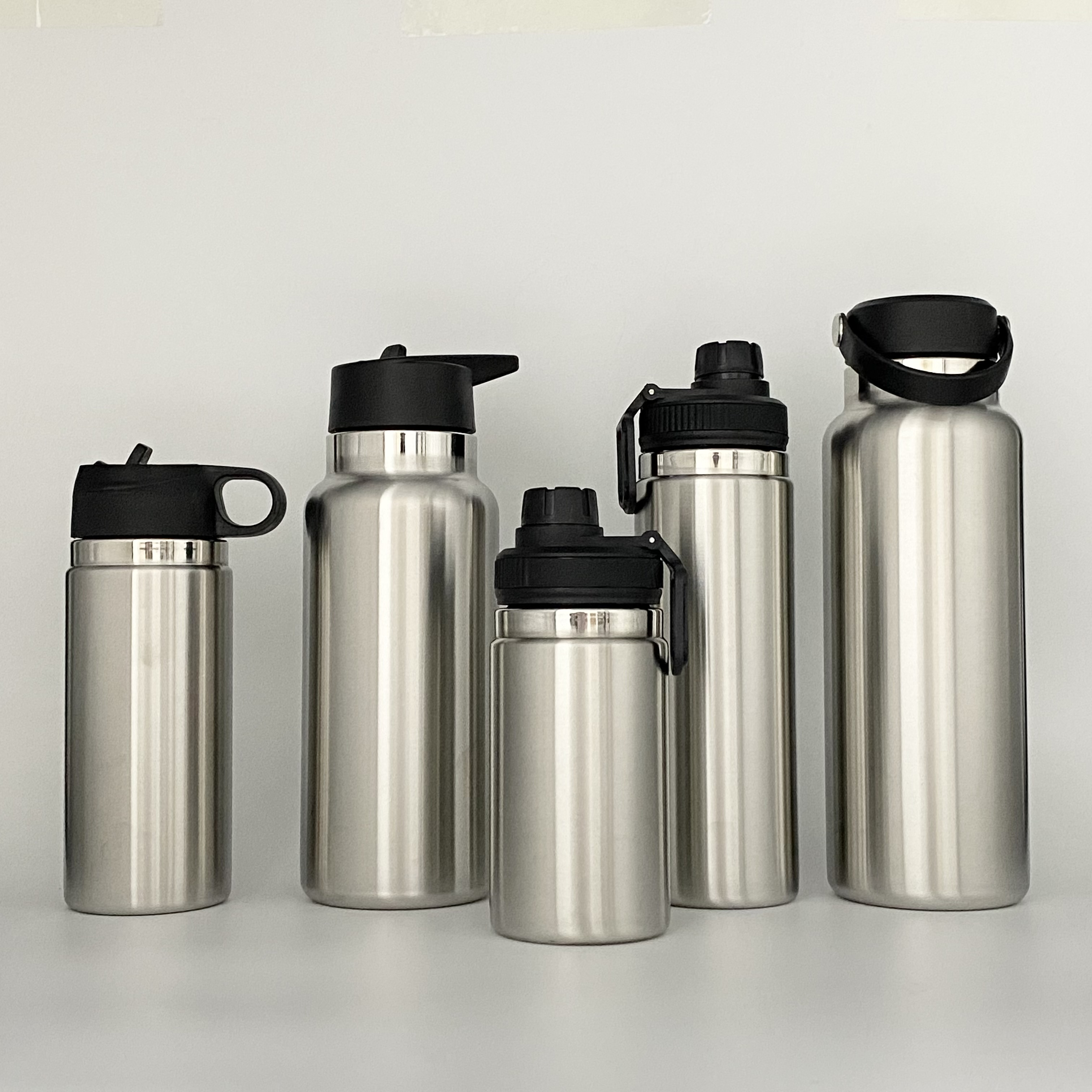 Wholesale hot sell Free sample Stainless Steel Wide Mouth Thermos Water Bottle Flask 18oz32oz 40oz vacuum insulated water bottle