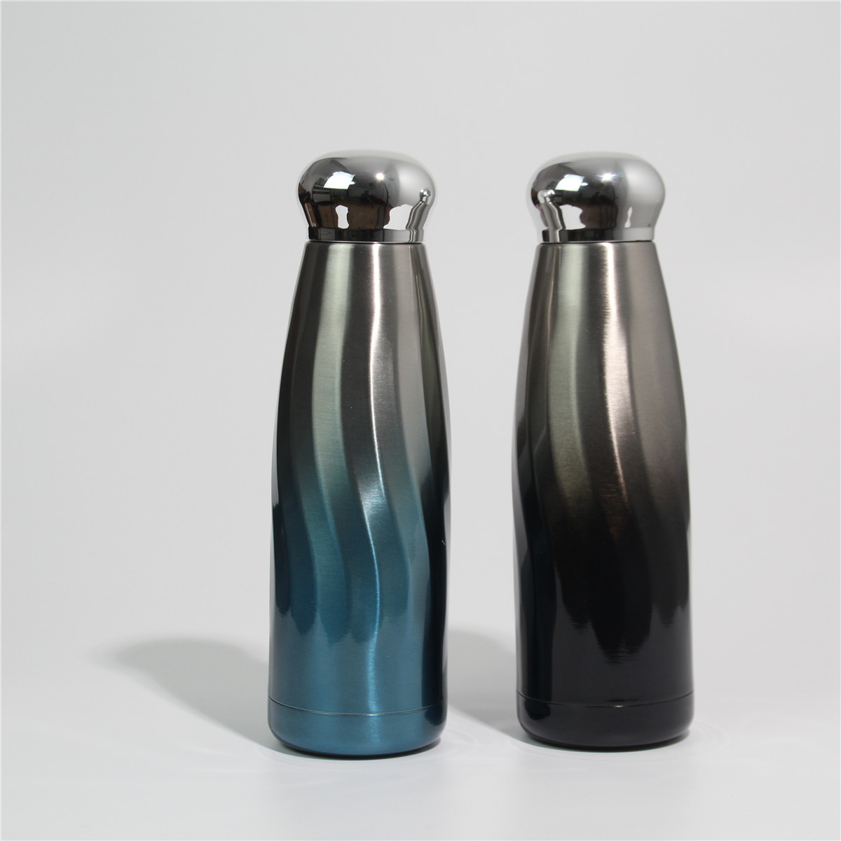 2020 wholesale hot stainless steel double walled tumbler The wave pattern cup
