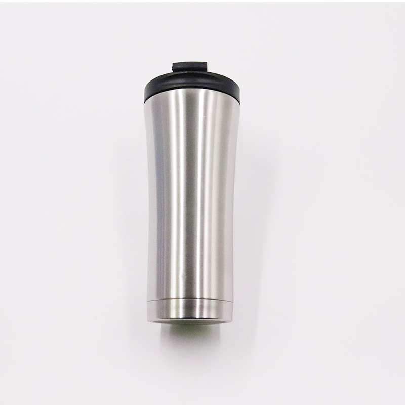 500ml stainless steel vacuum insulated travel coffee mugs , 17 oz coffee tumbler cups with leakproof lid