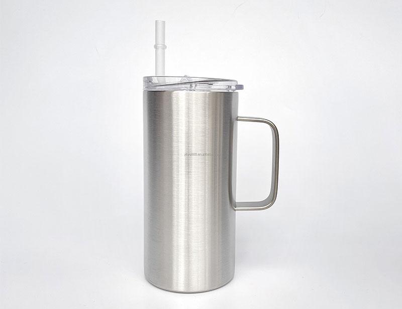 16oz straight skinny tumbler custom color skinny tumbler stainless steel travel coffee mug 30oz 20oz skinny tumbler with handle