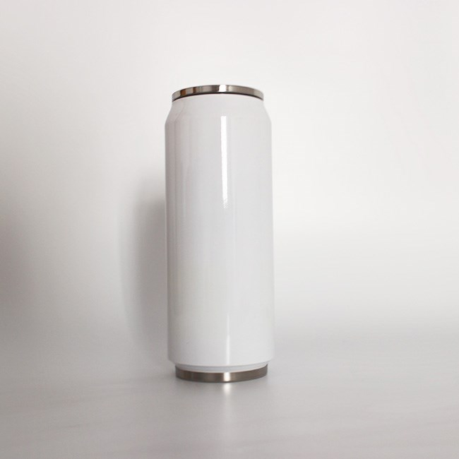500ml double walled steel steel insulated blank sublimation tumbler soda can